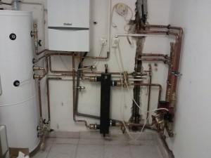 Fűtésszerelő - hőtárolós kazán bekötése