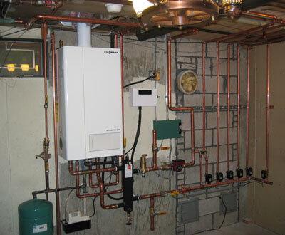 fűtési rendszer korszerűsítése kondenzációs kazánnal
